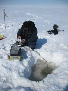 Исследования ледового режима водных объектов