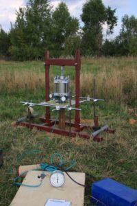 Полевые испытания физико-механических свойств грунтов
